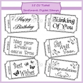 CU Ticket Sentiments Digital Stamps