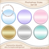Photoshop Styles Set 3 .ASL File - CU OK