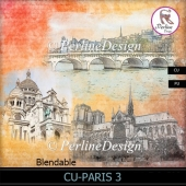 3 Paris Overlays to create background papers