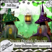 FANTASY MUSHROOM HOUSE TUBE PACK CU - FULL SIZE