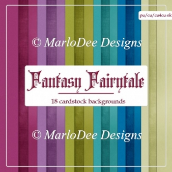 Fantasy Fairytale Card Stock Digital Papers {A4 size}