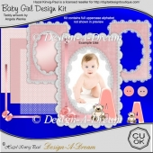 Baby Girl Design Kit