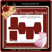 Jewelry/Gift Box PDF & PNG