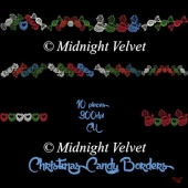 Christmas Candy Borders