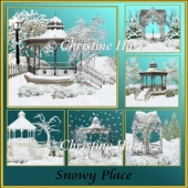 Snowy Place Png Scenes