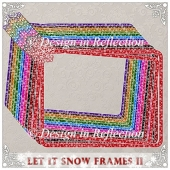 Let It Snow - Bold Frames II