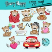 Beary Happy element pack