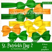 St. Patrick's Day Colors 2 - Bow Graphics 1