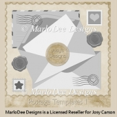 Postage Templates PSD Templates