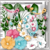 CU Fantasy Flowers 1 FS by GJ