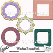 WOODEN FRAMES CU PACK VOL. 01 - FULL SIZE