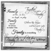 Family Word Art 2