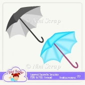 Layered Umbrella Template
