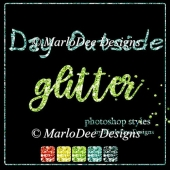 Day Outside Glitter Photoshop Styles
