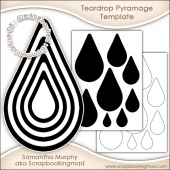 Teardrop Pyramage Template Commercial Use Ok