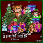 CU Christmas Trees Mix
