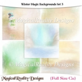 Winter Magic Backgrounds Set 3