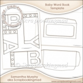 Baby Word Book Template