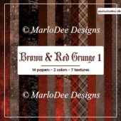 Brown & Red Grunge Style Backgrounds 1