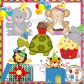 Party Animals Designer Resource Graphic