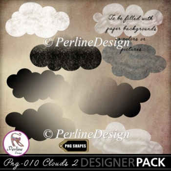 Template PNG clouds 2 to create your own clouds