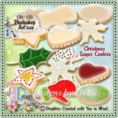 Christmas Sugar Cookies PS Action CU