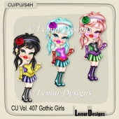 CU Vol. 407 Gothic Girls