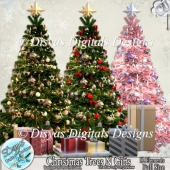 CHRISTMAS TREES AND GIFTS CU PACK - FULL SIZE