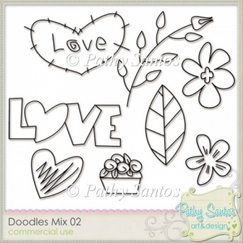 Doodles Mix 2 Pathy Santos