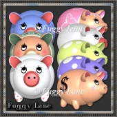 Piggy Bank Set Two