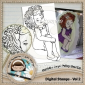 Digital Stamps - Vol 2