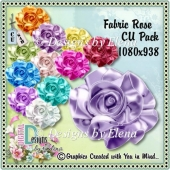 Fabric Rose CU Pack