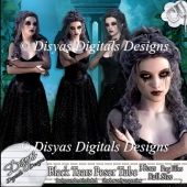 BLACK TEARS POSER TUBE PACK CU