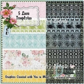Lace and Lace Templates