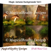 Magic Autumn Backgrounds Vol 1