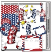 Freebie Happy 4th of july FS by GJ