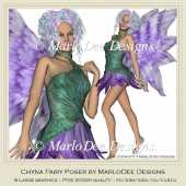Chyna Fairy Poser Graphics by MarloDee Designs