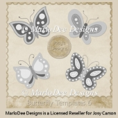 Butterfly Templates 6