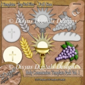 Holy Communion Template Pack Vol. 1