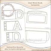 Dad Word Book Template