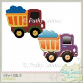 Template Truck 2 Pathy Santos