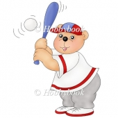 Baseball Bear (colour)