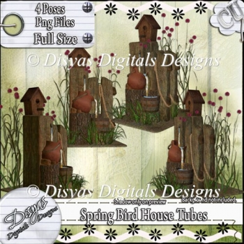 SPRING BIRD HOUSE TUBE PACK - CU