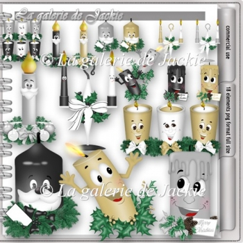 CU Christmas Candle 2 FS by GJ