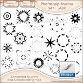 Photoshop .ABR Brushes Set 1 - CU OK