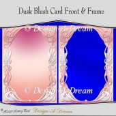 Dusk Blush Card Front & Frame
