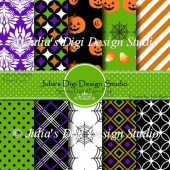 Spooky Digital Paper Pack