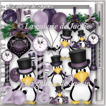 CU Happy New Year Penguin 3 FS by GJ