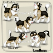 CU Vol. 431 Animals by Lemur Designs