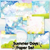 Summer Days Paper Set